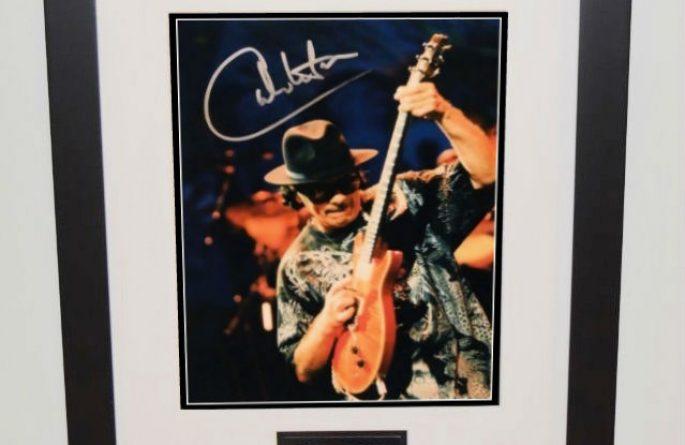 #4-Santana Hand Signed 8×10 Photograph