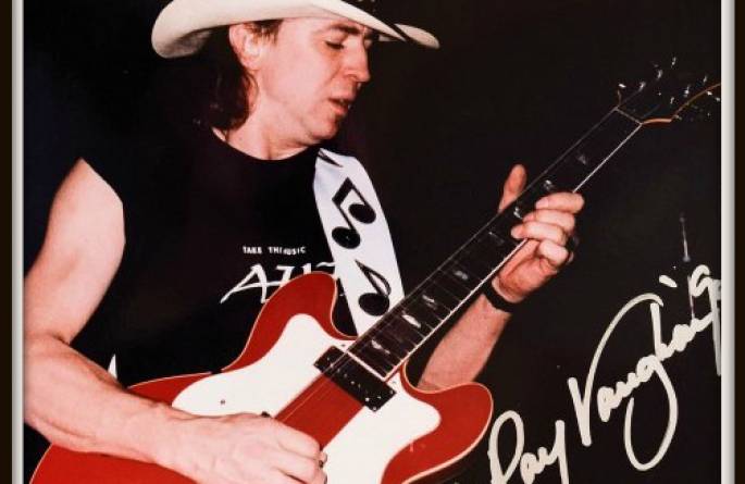 #9-Stevie Ray Vaughan Signed Photograph