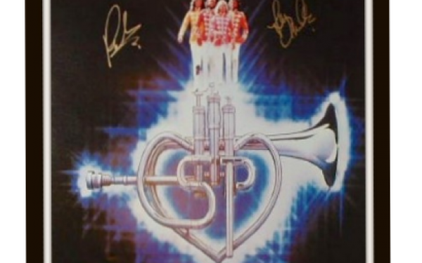 Bee Gees Signed Poster