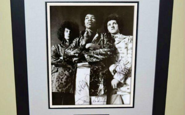 #4 Jimi Hendrix Signed 8×10 Photograph