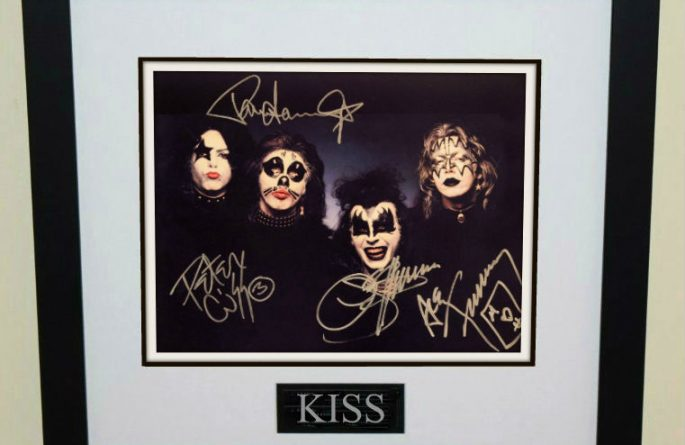 #9-Kiss Hand Signed Photograph