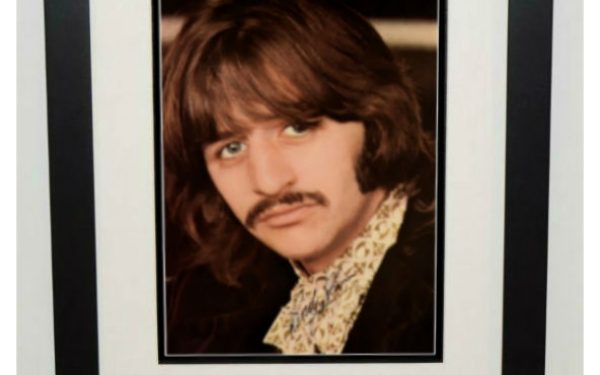 Ringo Starr Signed 8×10 Photograph