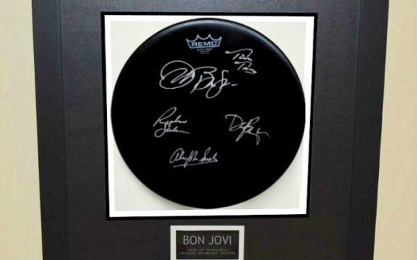 Bon Jovi – Aquarian Drum Head