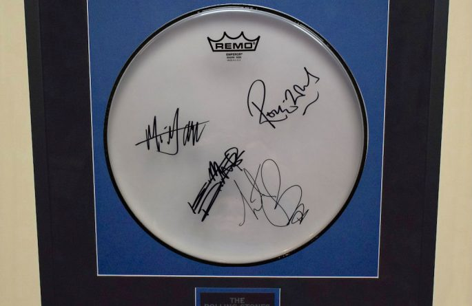 Rolling Stones – Clear Drum Head