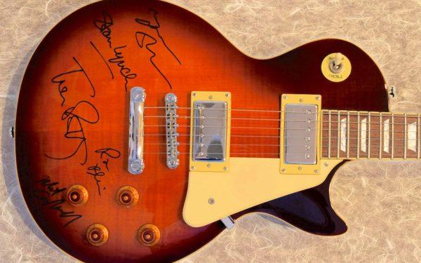 Tom Petty  – Sunburst Epiphone Les Paul Guitar
