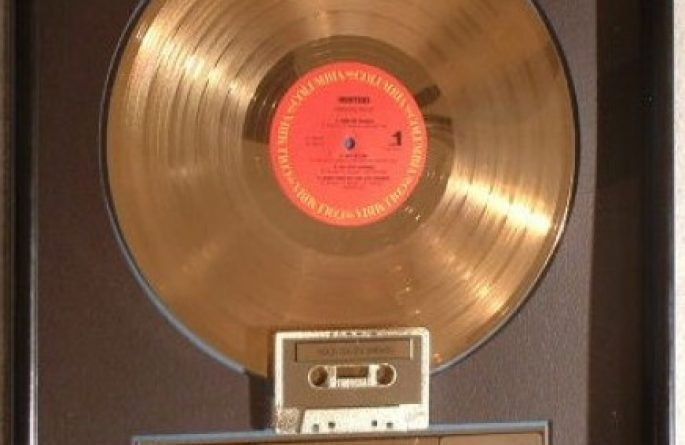 Hooters RIAA Award For Nervous Nights