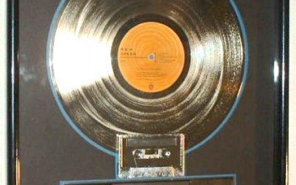 R.E.M. RIAA Award For Green