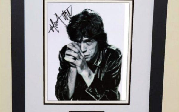 #11-Mick Jagger Signed 8×10 Photograph