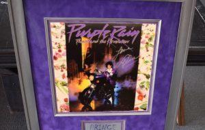 Framed Signed Albums