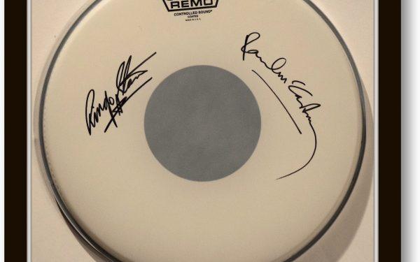 Paul McCartney – Ringo Starr – Drum Head