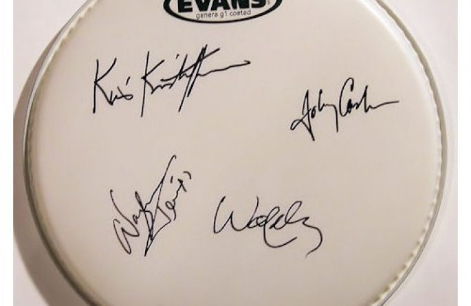 Highwaymen – Drum Head