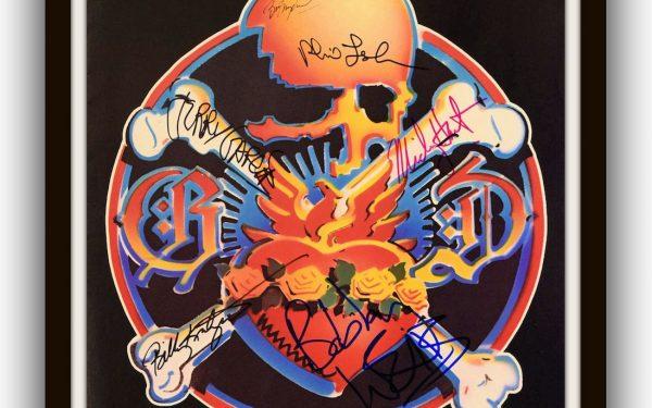 Grateful Dead Signed Photo Booklet