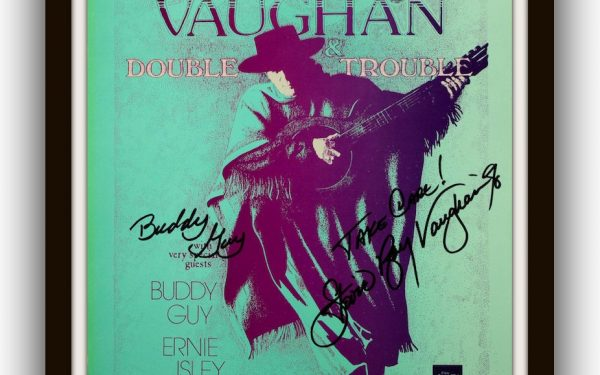 Stevie Ray Vaughan Signed Poster