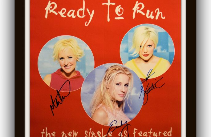 Dixie Chicks Signed Poster