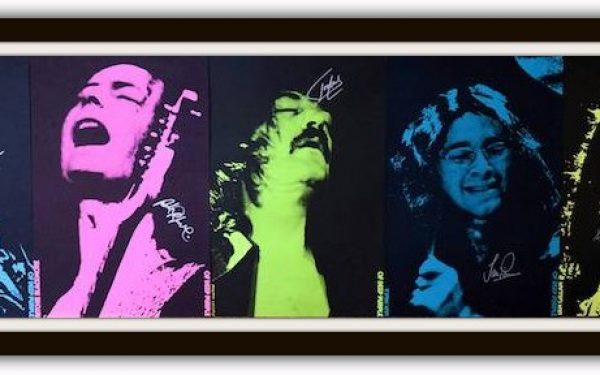 Deep Purple Signed Poster