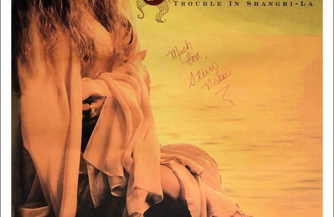 #1 Stevie Nicks Signed Poster