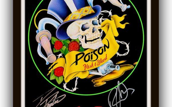 Poison – Flesh & Blood Tour Book
