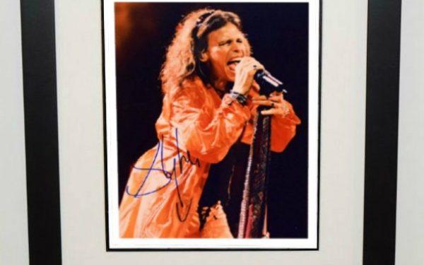 #3-Aerosmith – Steven Tyler Signed 8×10 Photograph