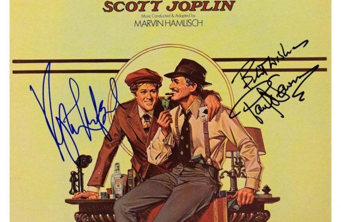 The Sting Signed Original Soundtrack