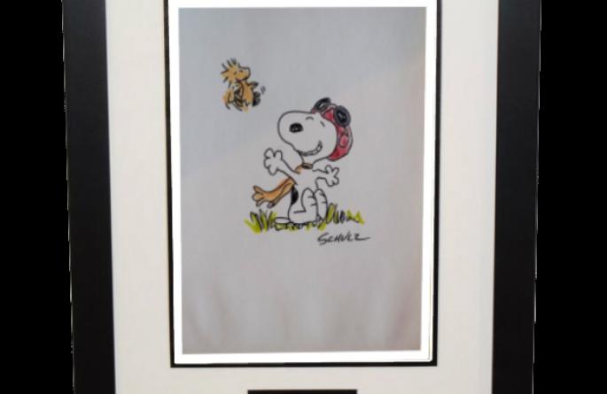 Charles Shultz – Snoopy & Woodstock