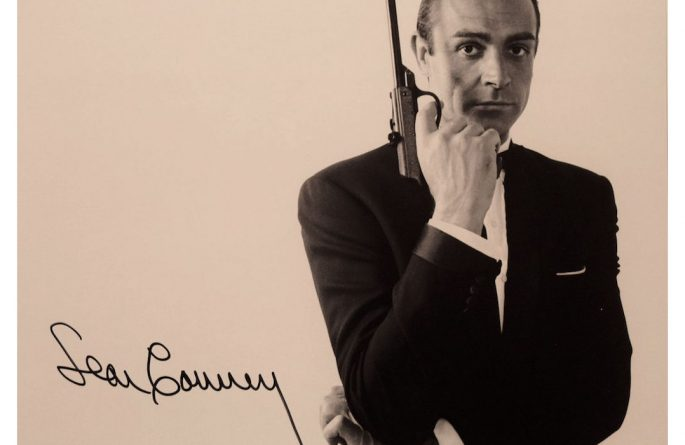 007 – Sean Connery Signed Photograph