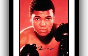 #2 Muhammad Ali Signed Photograph