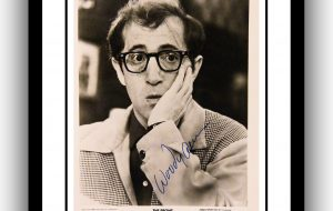 Woody Allen Signed Photograph