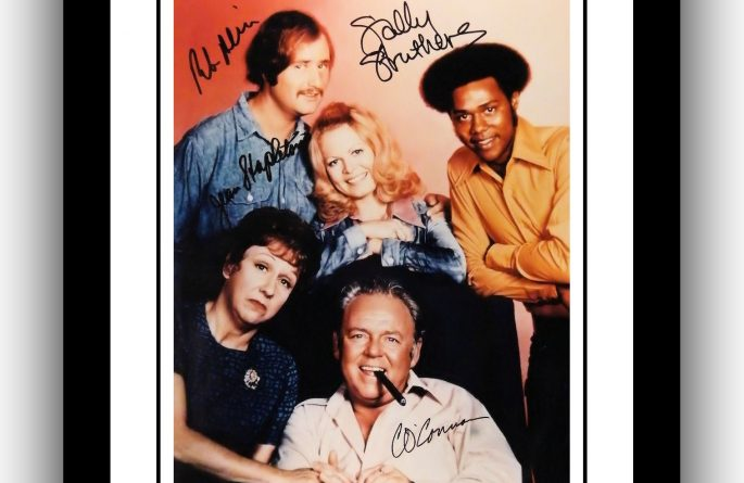 #2 All In The Family Signed Photograph