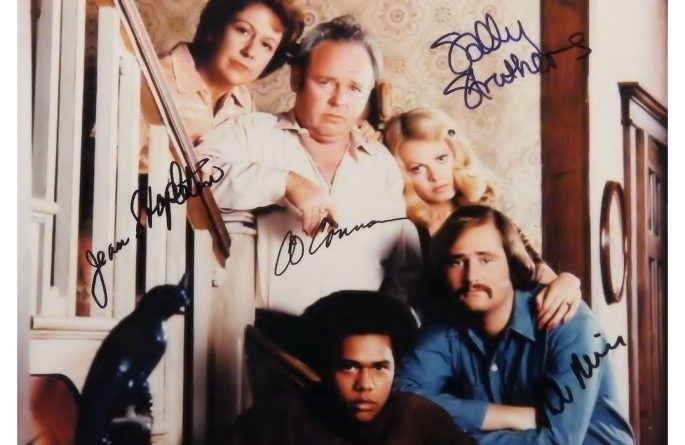 All In The Family Signed Photograph