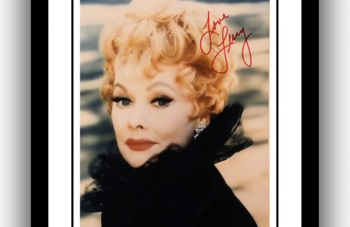 Lucille Ball Signed Photograph