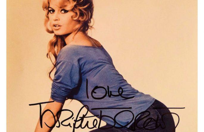 Brigitte Bardot Signed Photograph