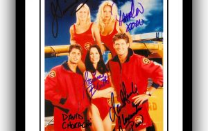 Baywatch Signed Photograph