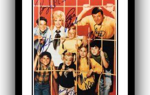 Brady Bunch Signed Photograph