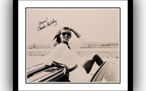 Christie Brinkley Signed Photograph
