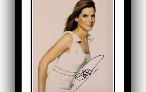 Sandra Bullock Signed Photograph