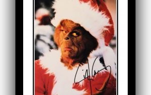 The Grinch – Jim Carrey Signed Photograph