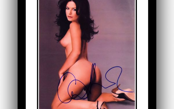 Catherine Zeta-Jones Signed Photograph