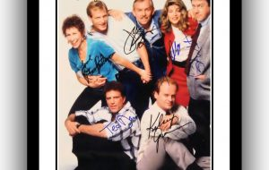 Cheers Signed Photograph