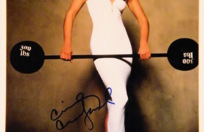 Cindy Crawford Signed Photograph