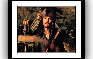 Pirates of the Caribbean Signed Photograph