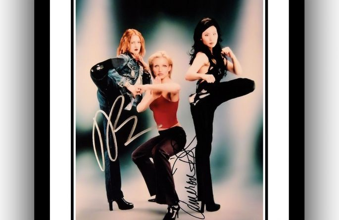 Charlie's Angels Signed Photograph