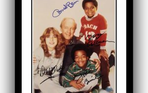 Different Strokes Signed Photograph