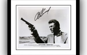 Magnum Force – Clint East Wood Signed Photograph