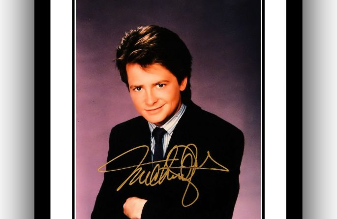 Michael J. Fox Signed Photograph