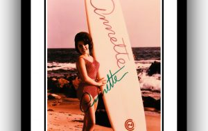 Annette Funicello Signed Photograph