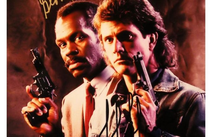 Lethal Weapon Signed Photograph