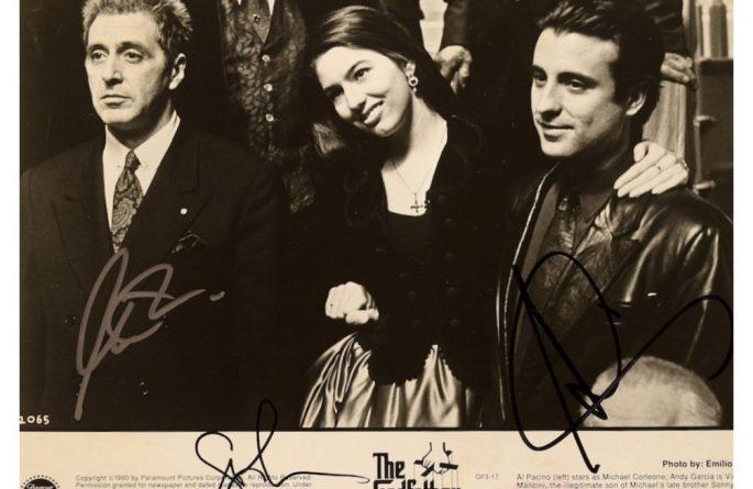 Godfather III Signed Photograph