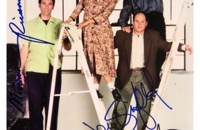 #2 Seinfeld Signed Photograph