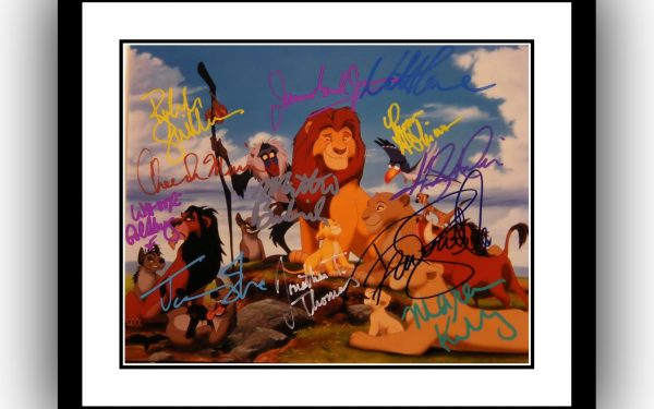The Lion King Signed Photograph