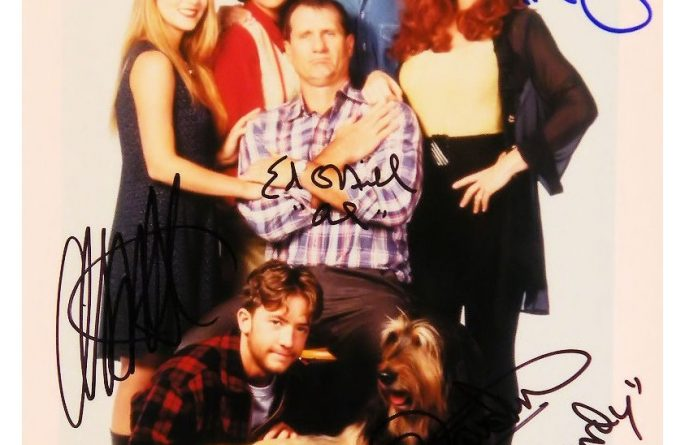 Married With Children Signed Photograph